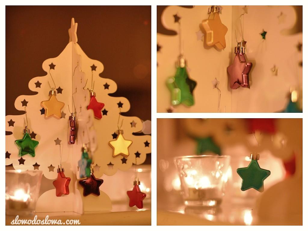 Stopniowe tworzenie świątecznego nastroju...