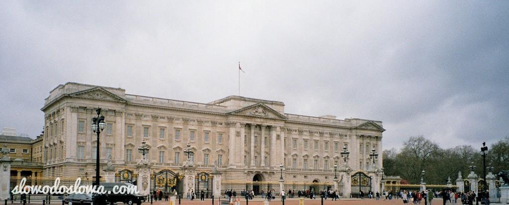 Z wizytą w Buckingham Palace
