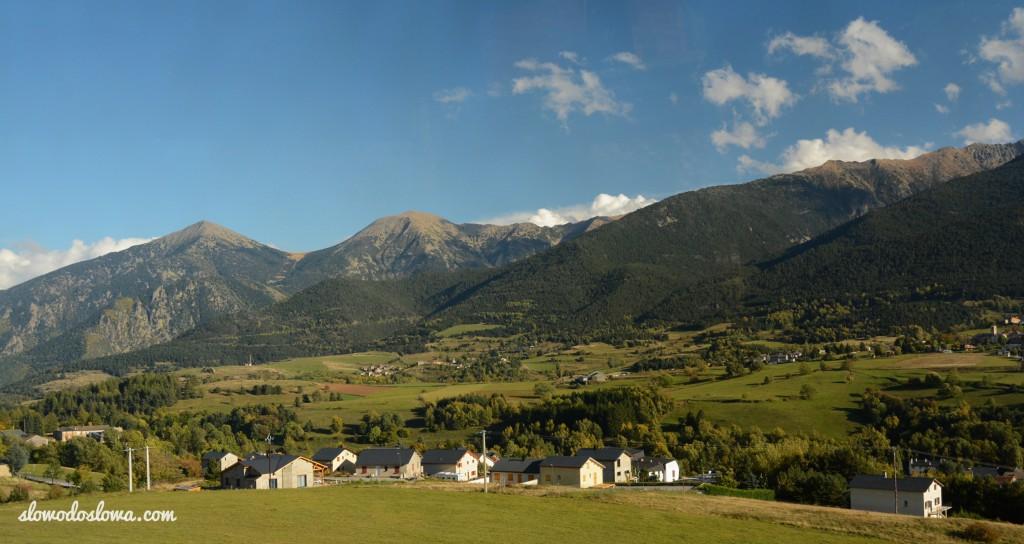 Panorama Pirenejów Wschodnich
