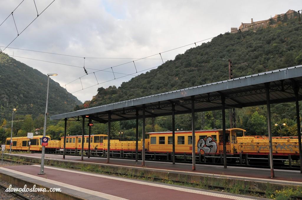 Le Petit Train Jaune, Villefranche-de-Conflet, France