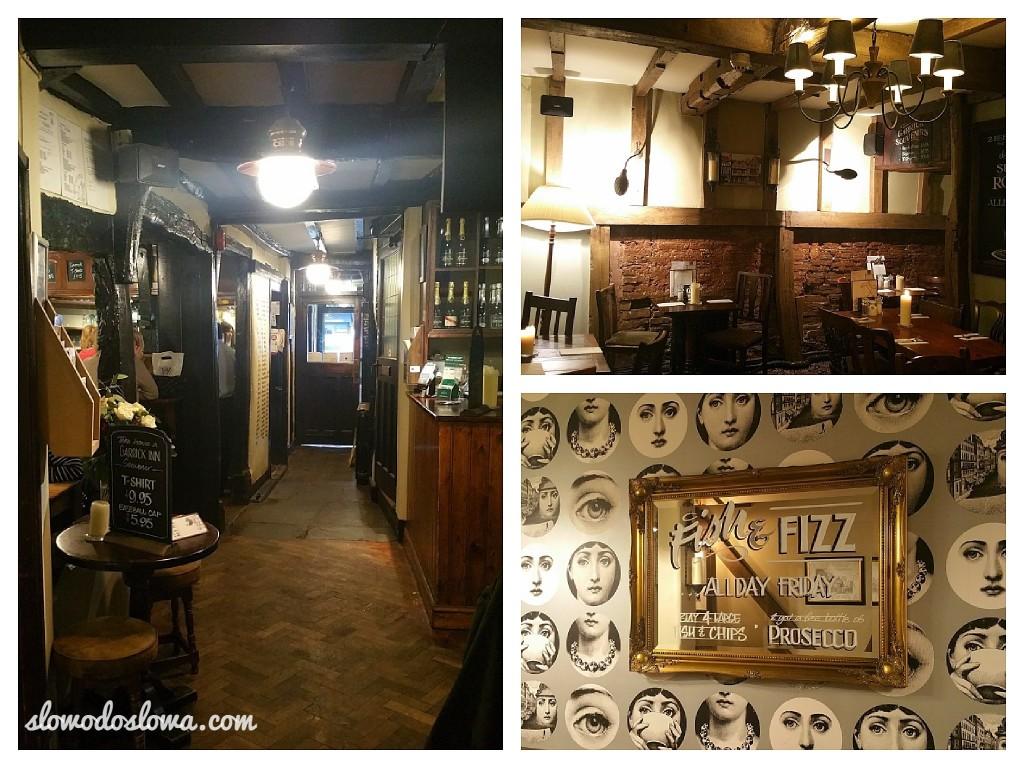 Najstarszy pub w Stratford upon Avon - The Garrick