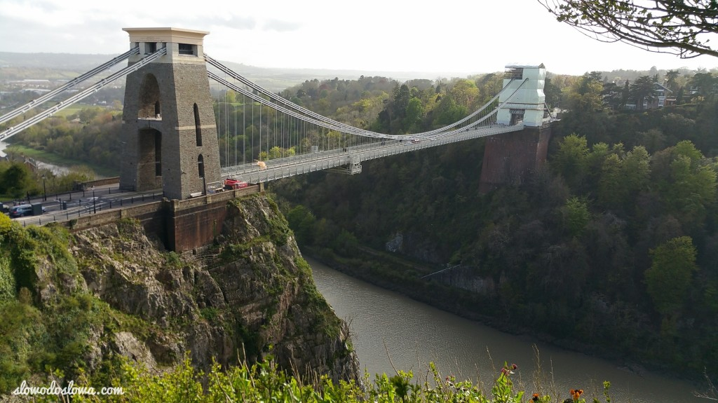 The Clifton Suspension Bridge, Bristol,