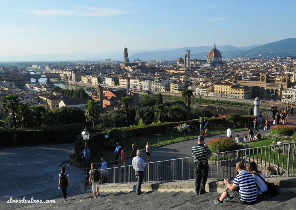 Florencja, Wzgórze Michała Anioła