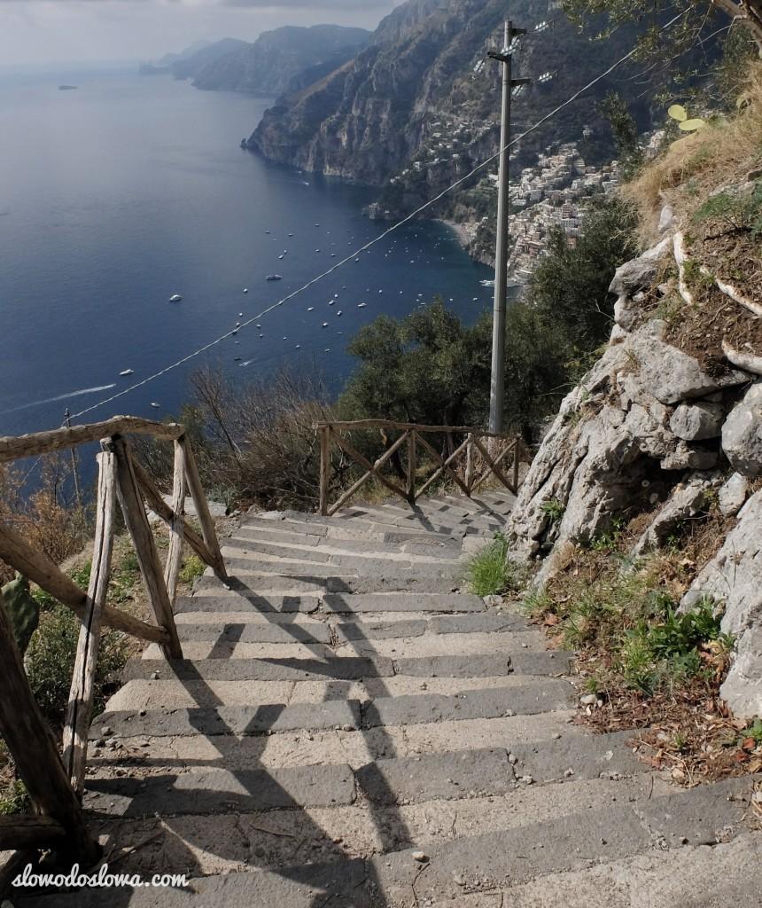 Schodami w górę, schodami w dół, czyli... zwiedzanie Wybrzeża Amalfi