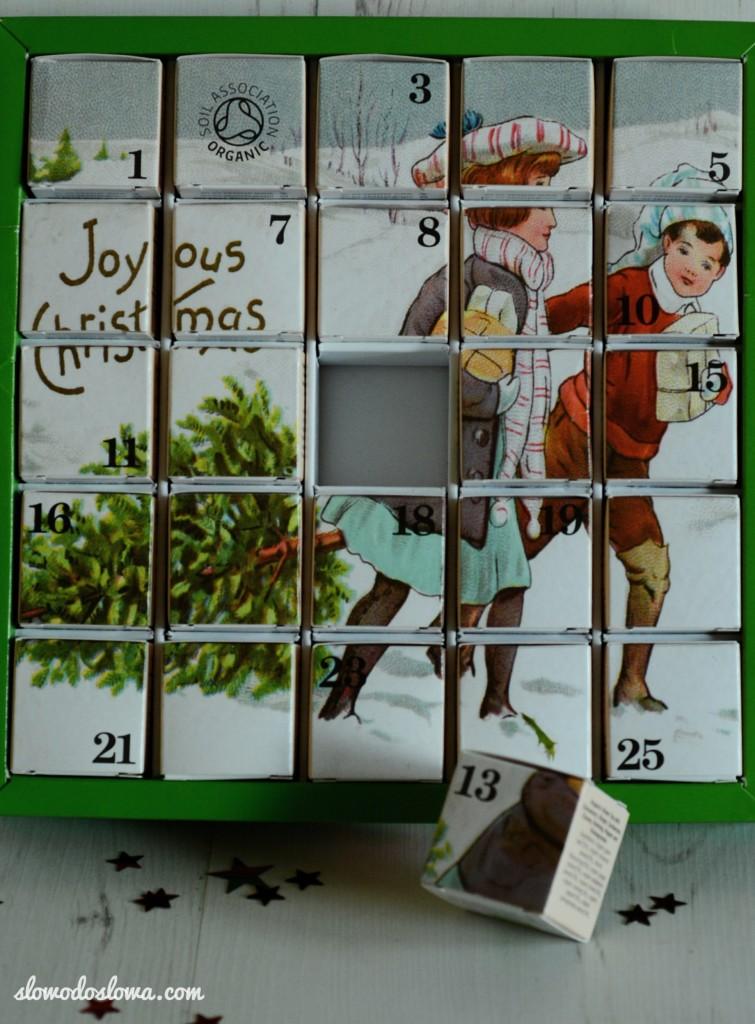 Odliczanie do Świąt z kalendarzem adwentowym