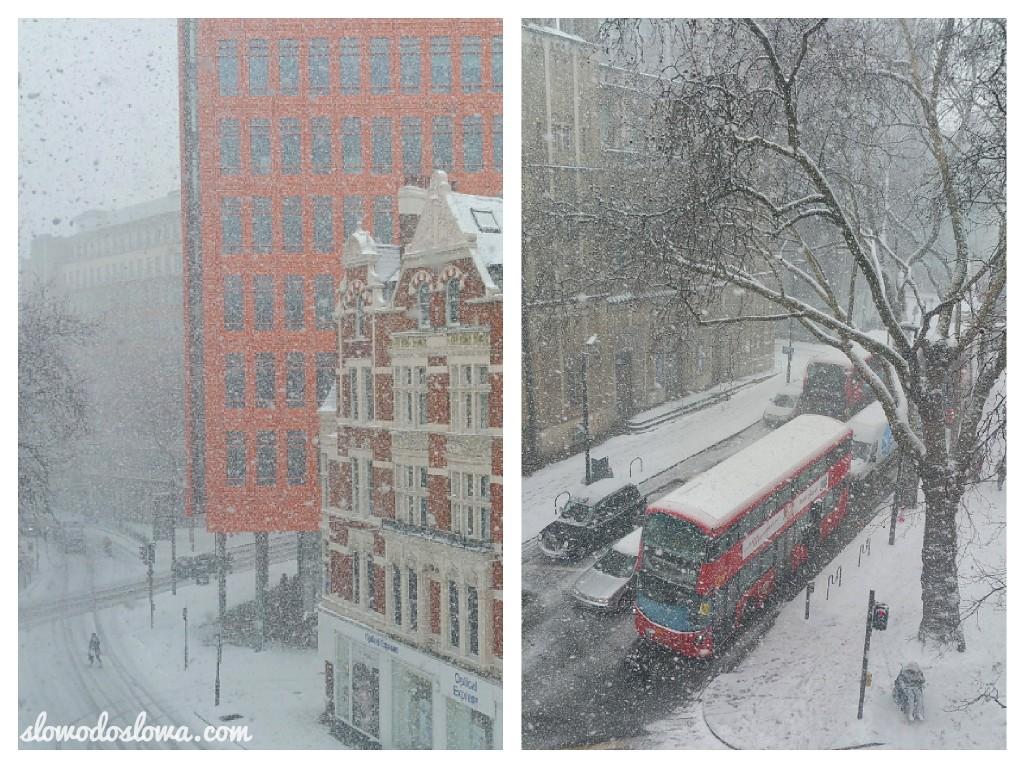 Snowmageddon in London