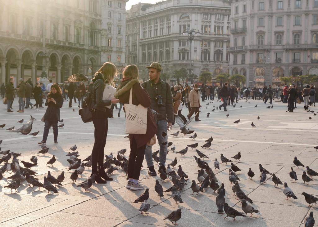 Milano, Piazza di Duomo