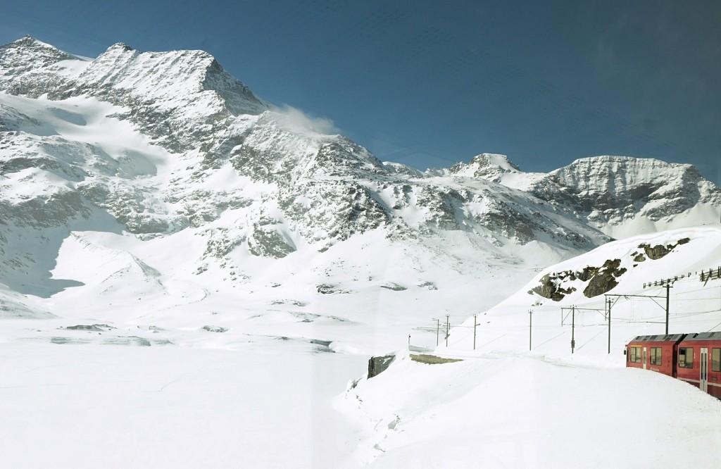 Bernina Express, Szwajcaria