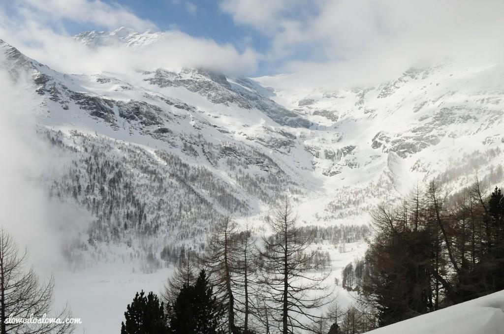 Bernina Express, czyli... pociągiem z Włoch do Szwajcarii