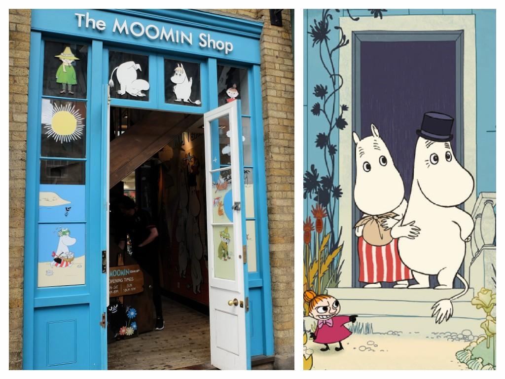 Moomin Shop, Covent Garden, London