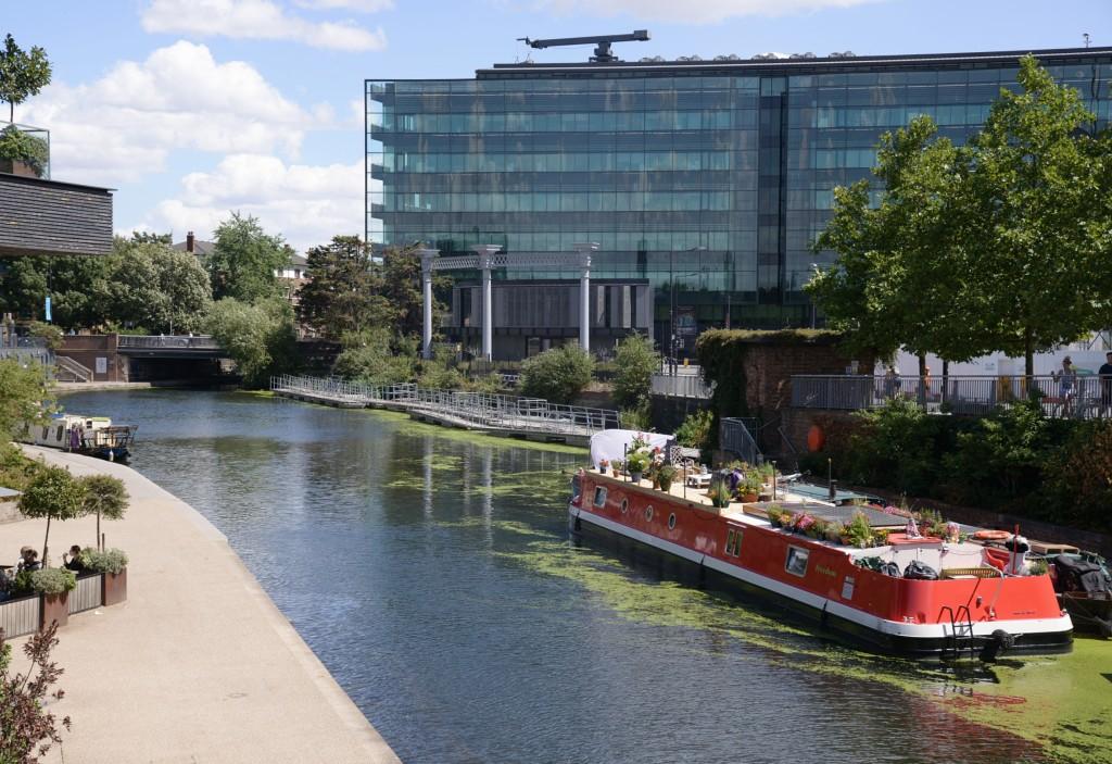 Camden Canal, London