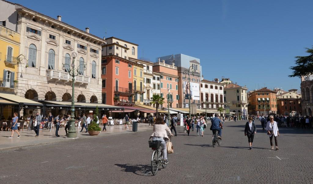 Główny plac Werony