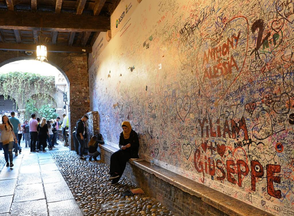 Ściana miłosnych życzeń