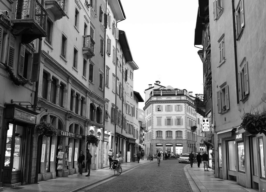 Trydent centrum miasta