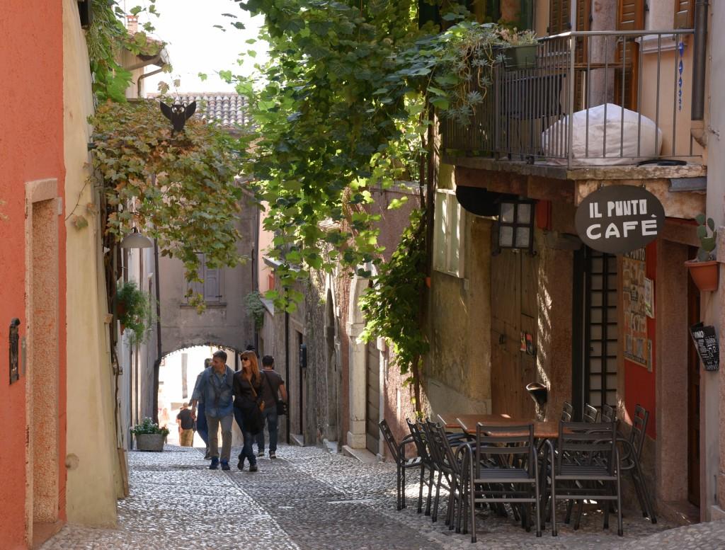 uliczki Malcesine, Włochy