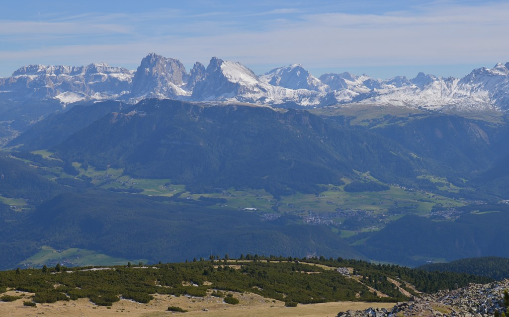 W południowym Tyrolu - Rittner Horn
