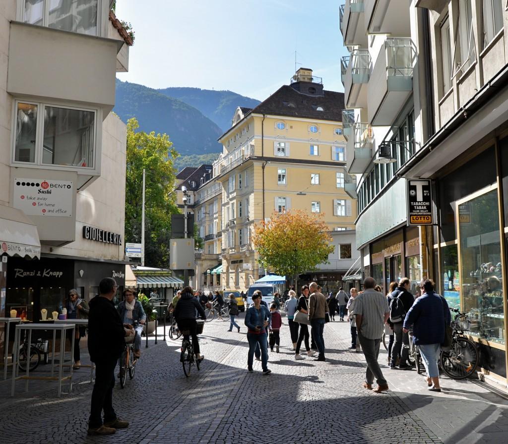 Bolzano - centrum miasta