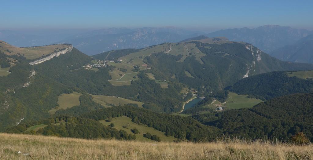 Panorama z Monte Baldo