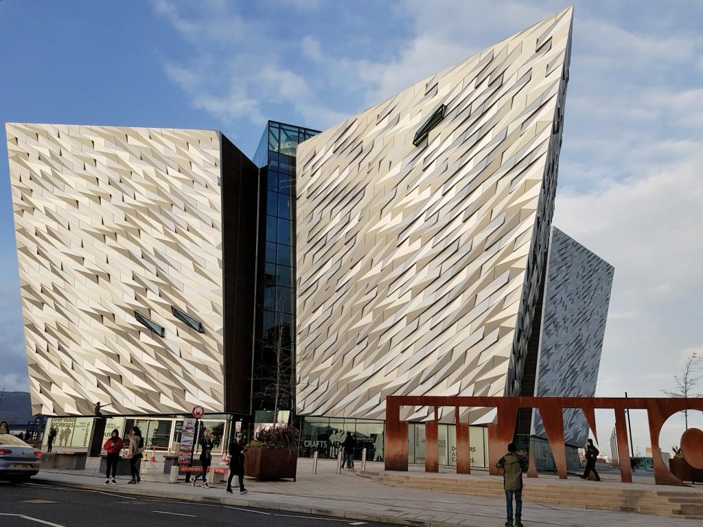 Belfast - Titanic Museum 1