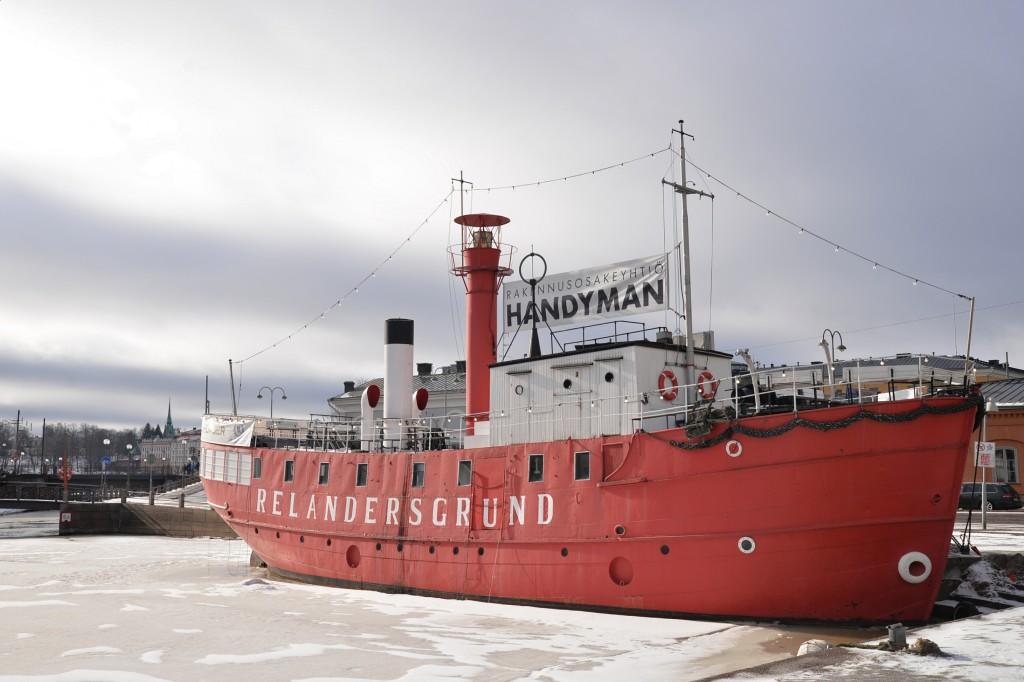 Helsinki - łódź