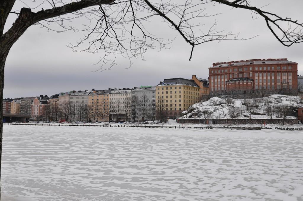 Helsinki - nabrzeże