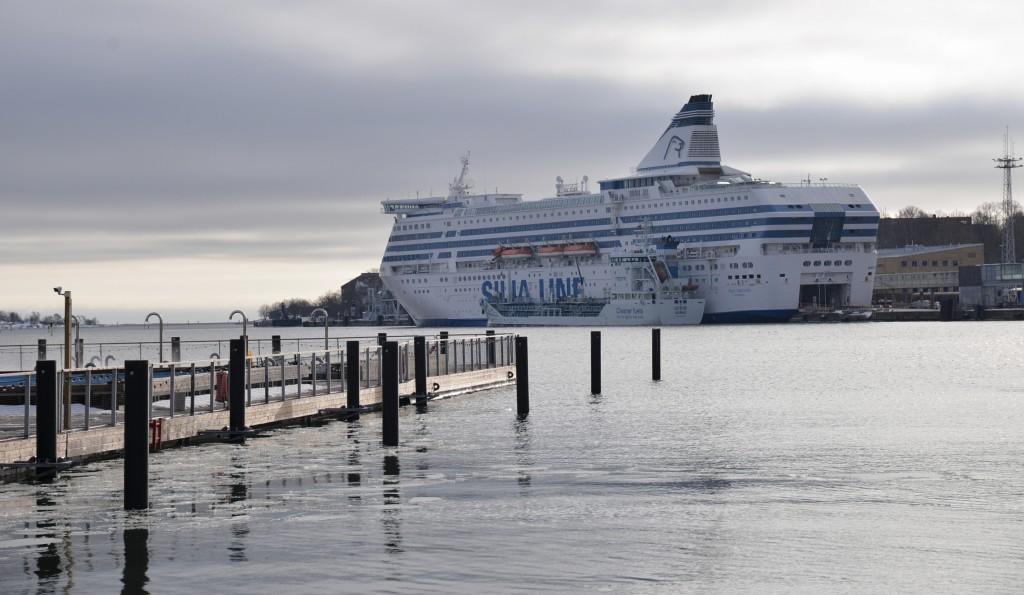 Helsinki - port promowy