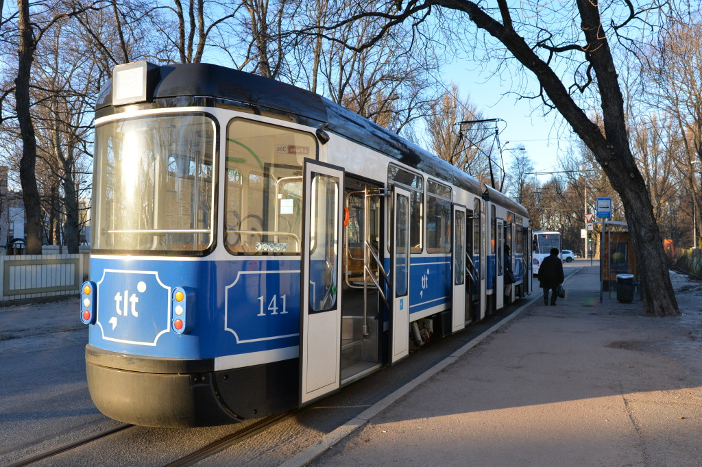 Tramwaj w Tallinie
