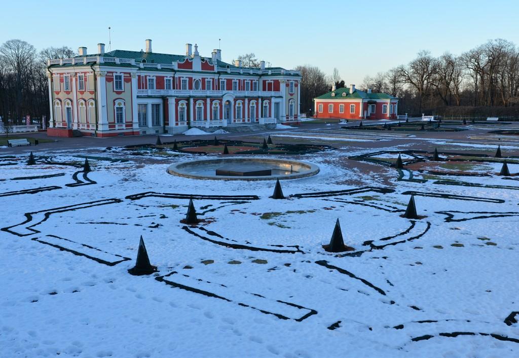 Kadriorg - Pałac prezydencki