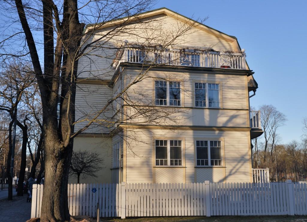 Kardiorg - drewniany dom