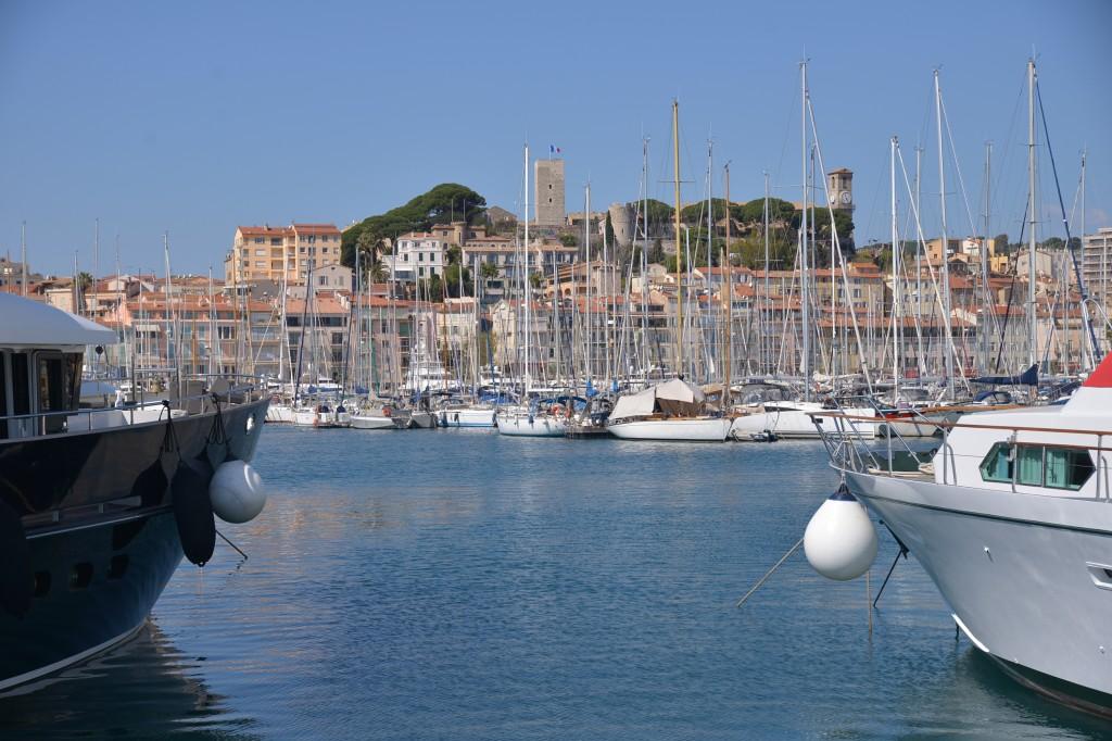 #Cannes - miasto portowe