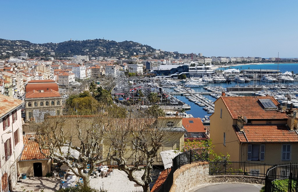 #Cannes - panorama portu