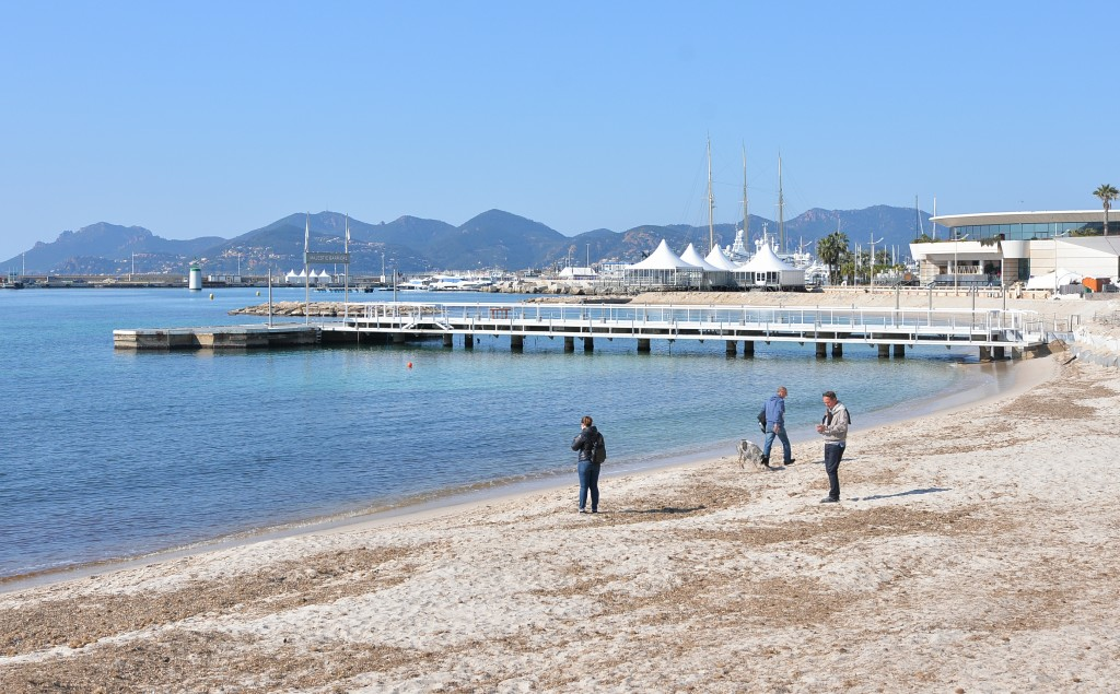 #Cannes - plaża