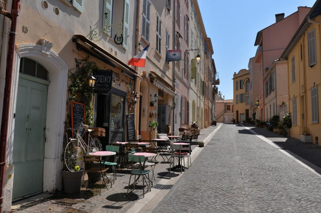 #Cannes - uliczki Starego miasta