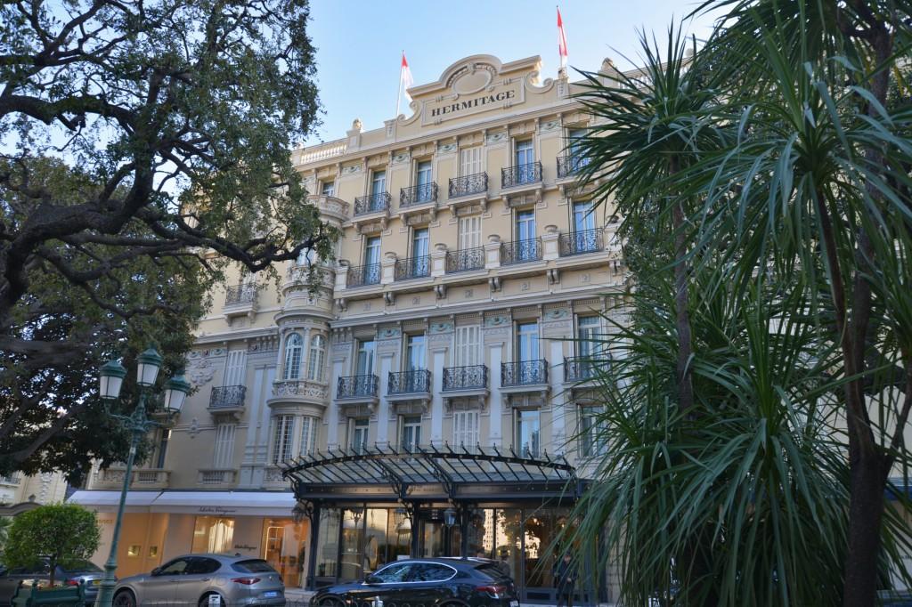 Monako - Hotel Hermitage