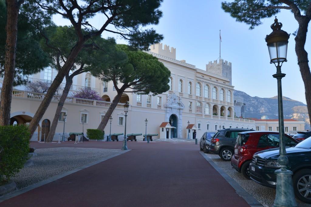 Monako - Pałac Alberta II