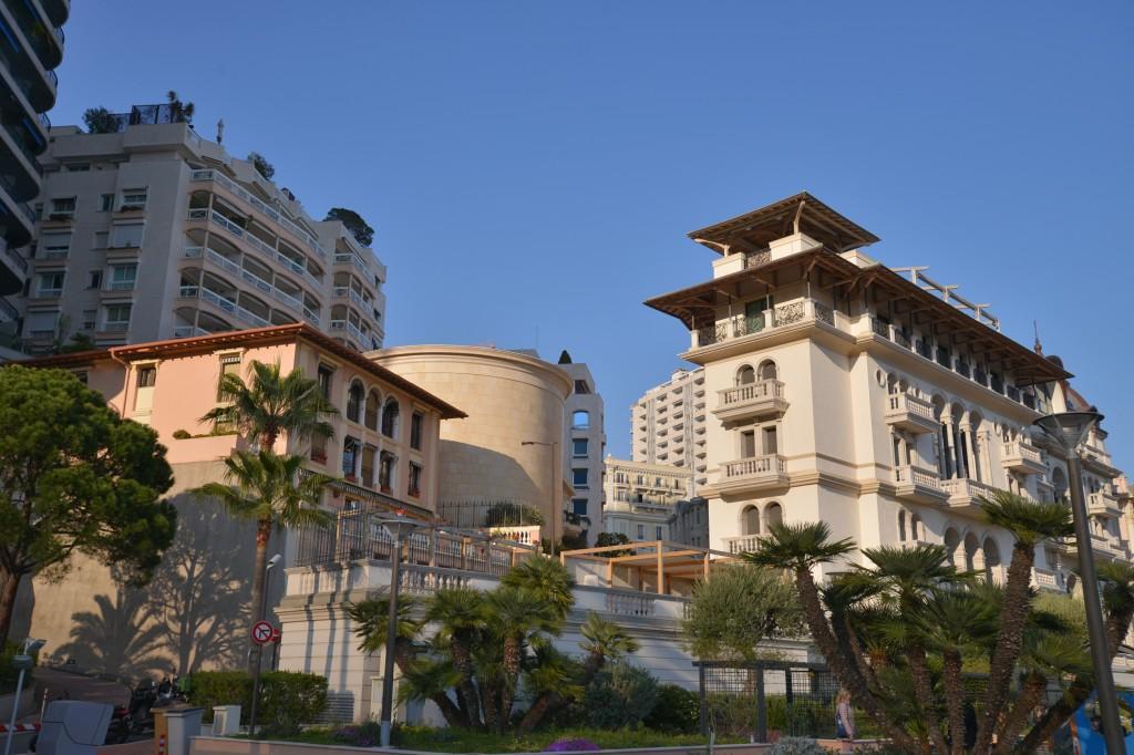 Monako zabudowa