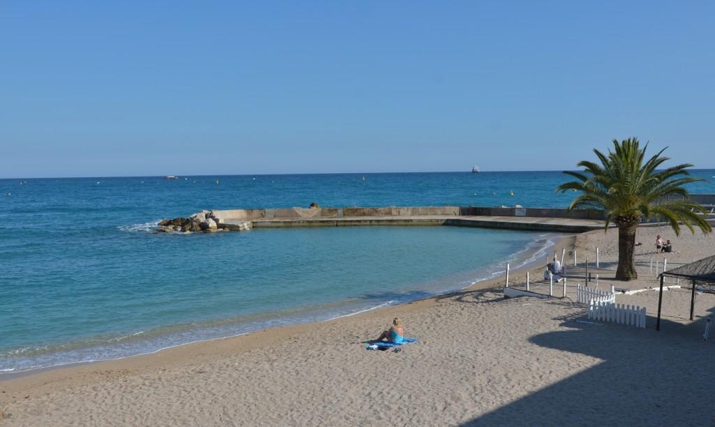 Monte Carlo - plaża publiczna