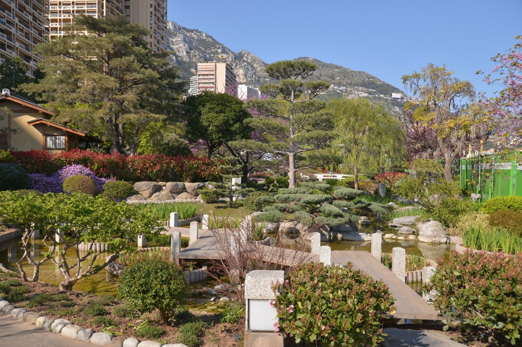 #Ogród japoński w Monako