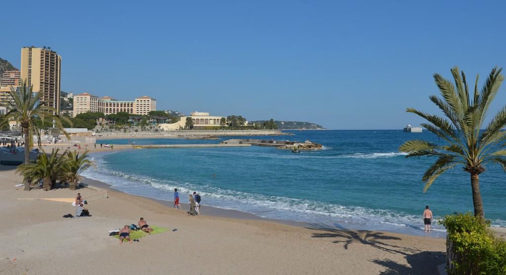 Plaża w Monte Carlo