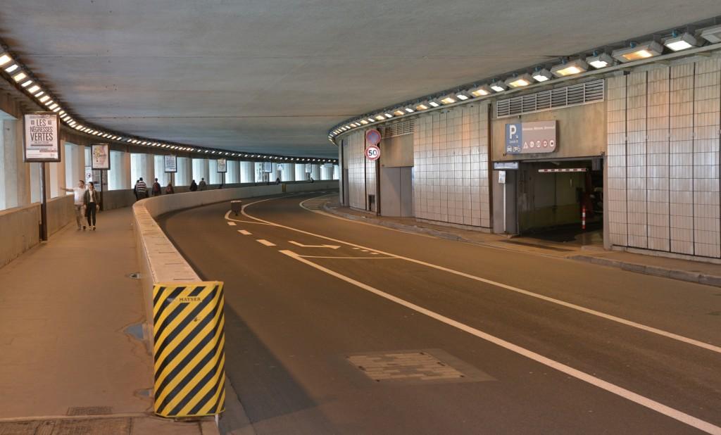 Tunel na torze Formuly 1 - Monako
