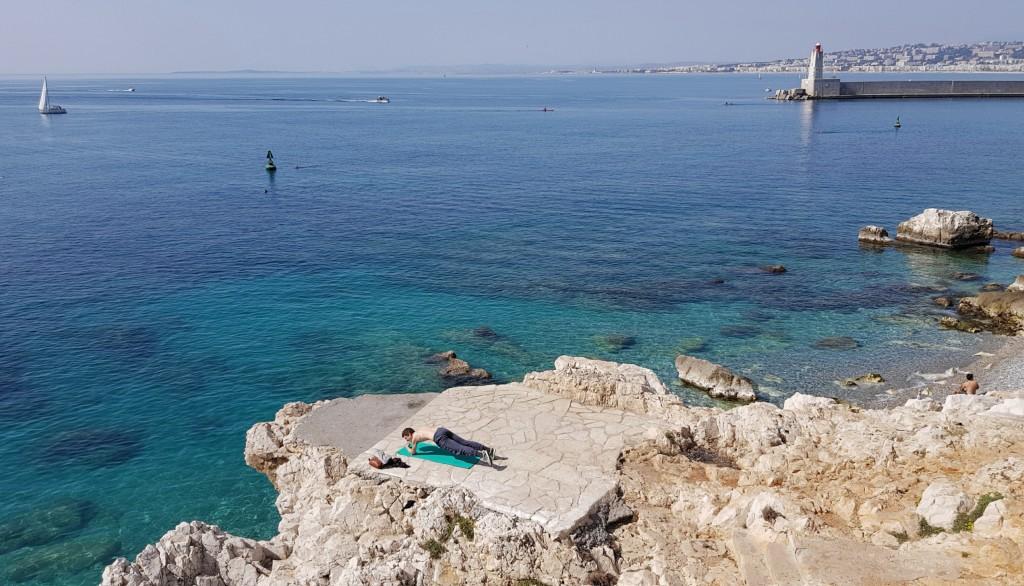 Joga na Cap de Nice