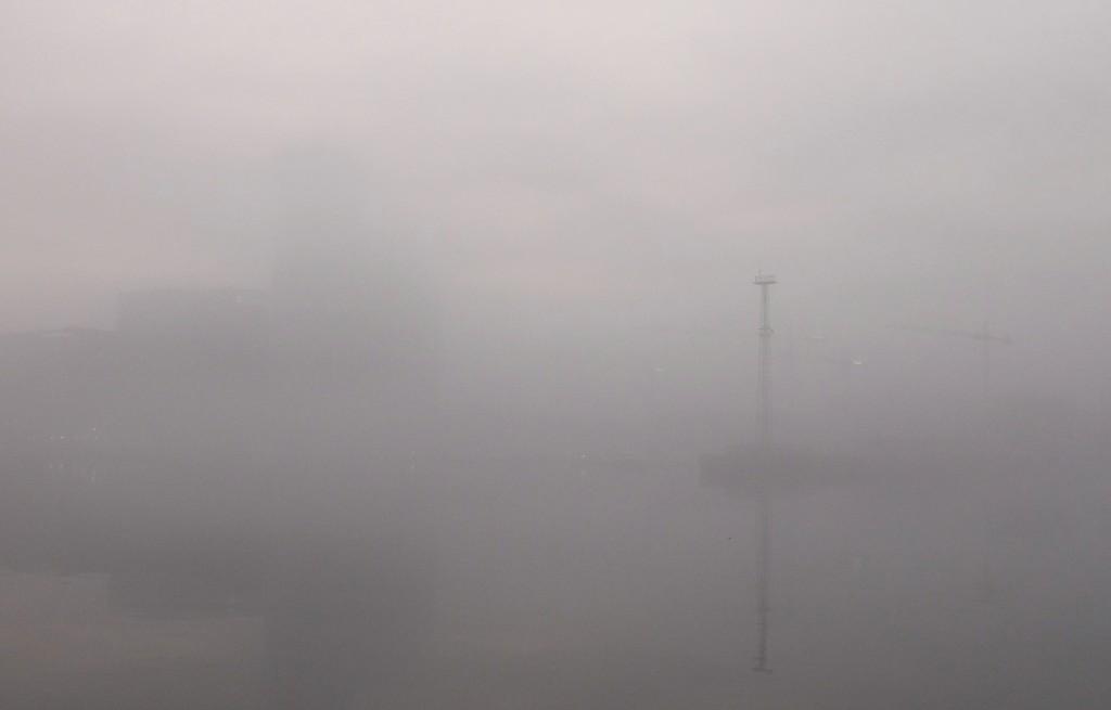 Słaba widoczność, Gdynia Śródmieście