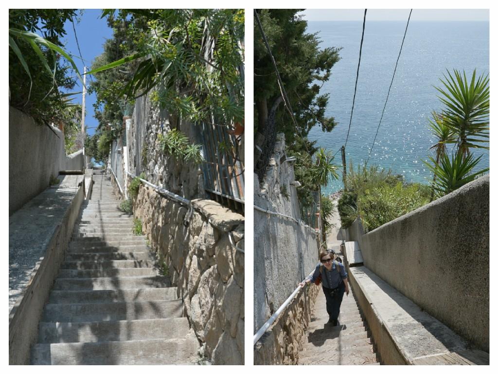 Schody na Mont Baron, Nicea