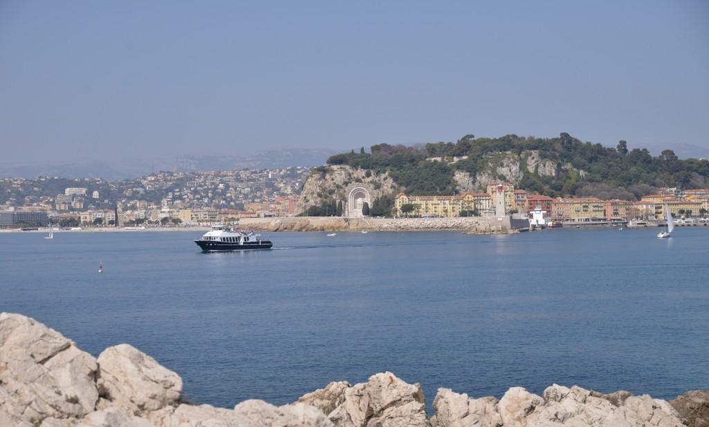 W drodze do Mont Baron, Nicea