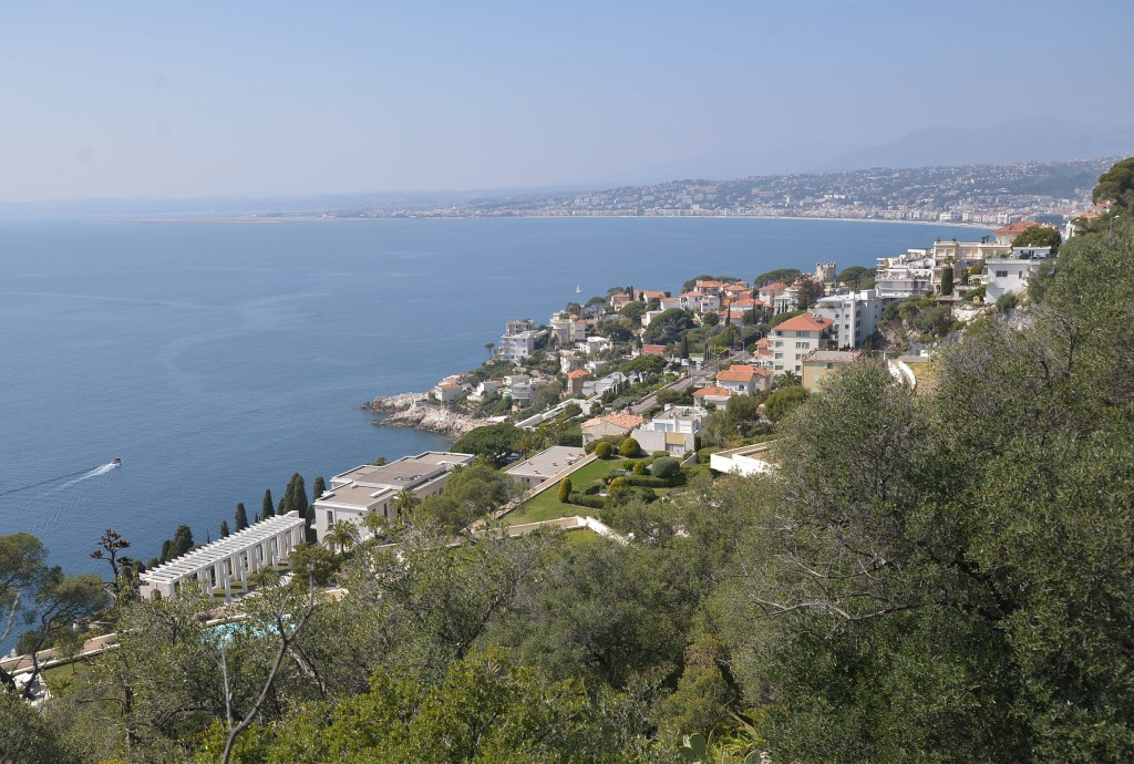Widok z Mont Baron, Nicea