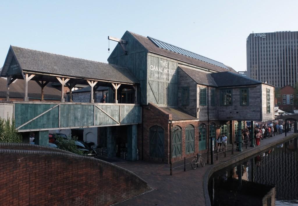 Birmingham, The Canal House