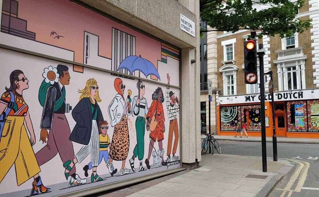 Kolorowy Londyn