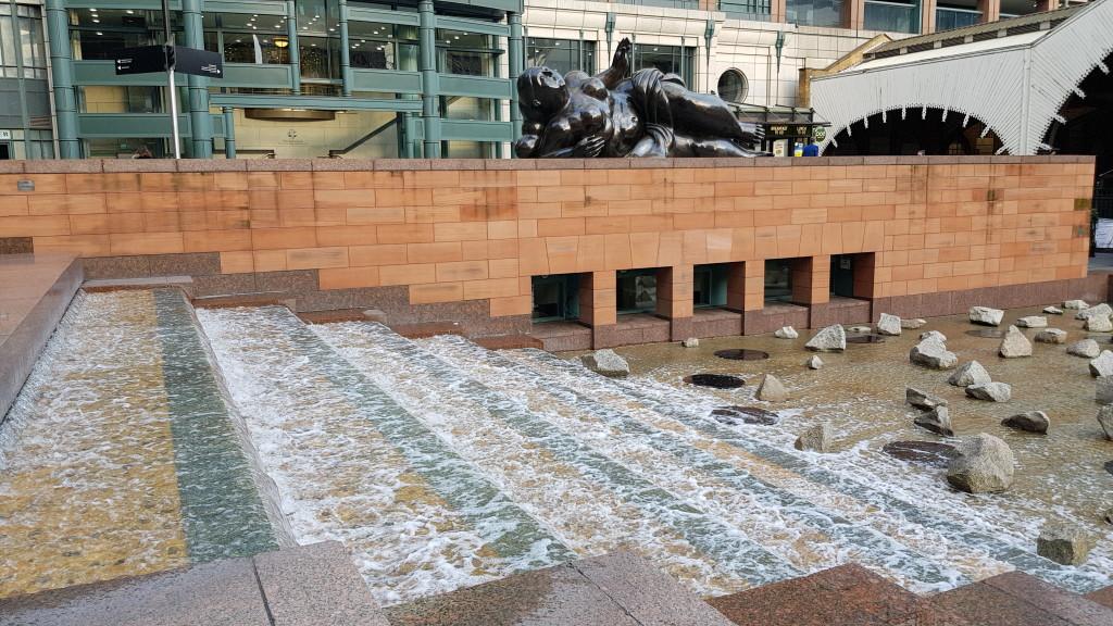 Miejskie wodospady