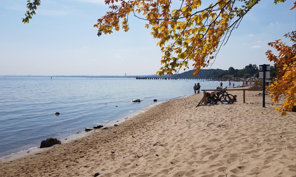 Gdynia Orłowo prawie jesiennie