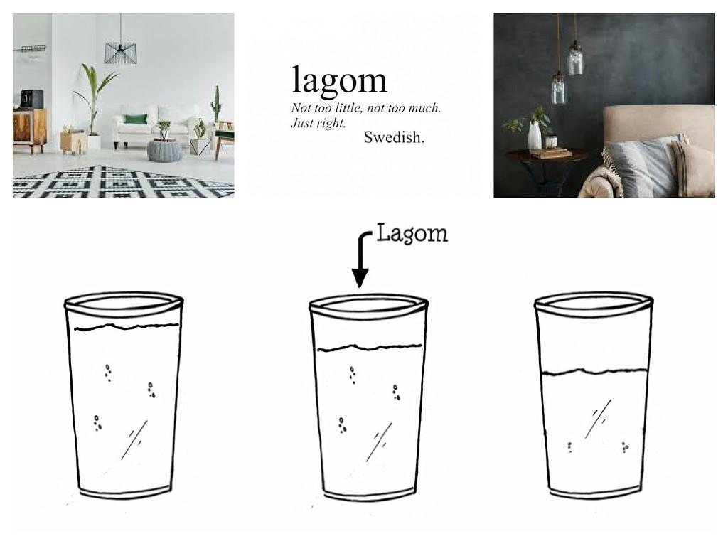 Lagom - właściwy balans